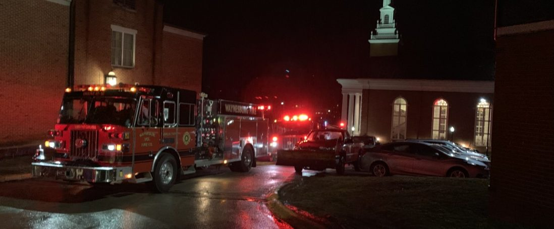 Fire Company Responds to Waynesburg University Dorm