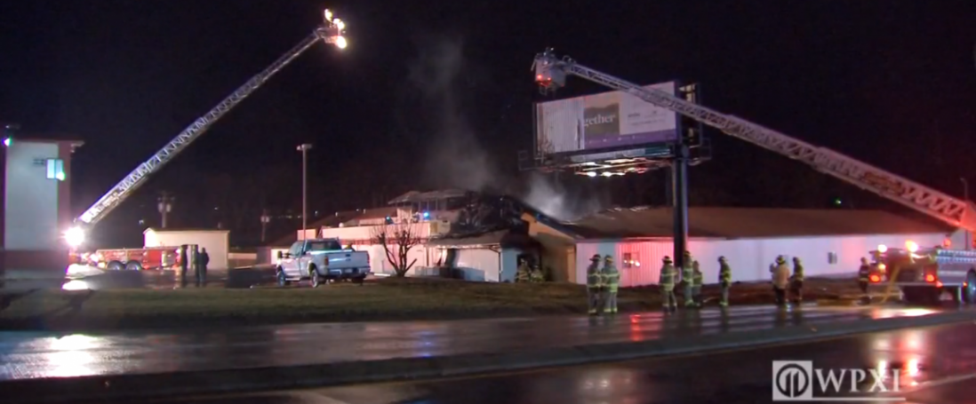 Fire Company Responds to Commercial Structure Fire
