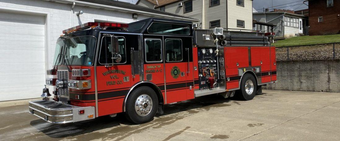 1995 Sutphen Sold to Rice's Landing Volunteer Fire Company